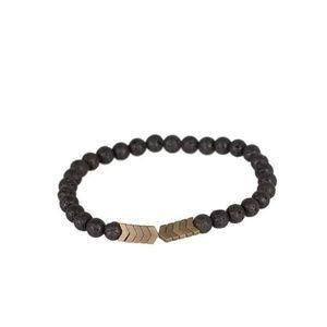 Lava Rock Unisex Bracelet - Fashion Accessories